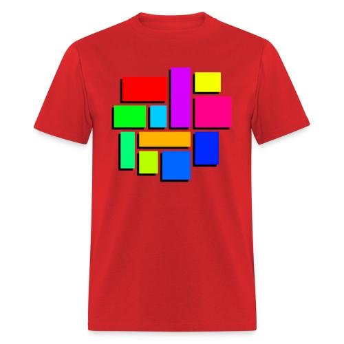 Color Connector - Men's T-Shirt