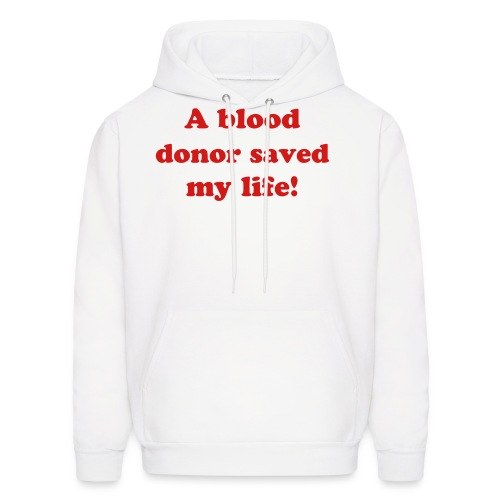 Blood donor! - Men's Hoodie