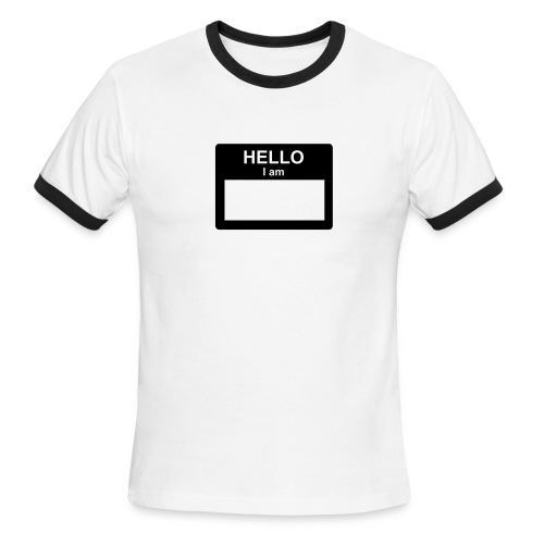 Hello - Men's Ringer T-Shirt