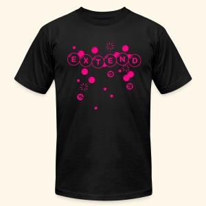 Extend (neon) - Men's Fine Jersey T-Shirt