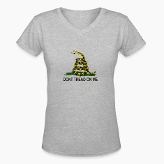 Don't Tread On Me Tee - Ladies