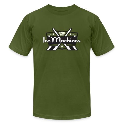 OpenSRS Ice Machines Hockey - Men's Fine Jersey T-Shirt