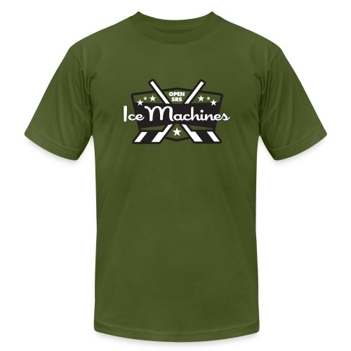 OpenSRS Ice Machines Hockey - Men's  Jersey T-Shirt