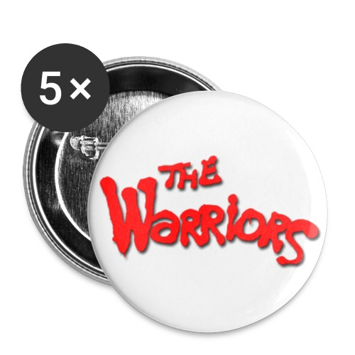 The Warriors Button (5 Pack, Large) - Large Buttons
