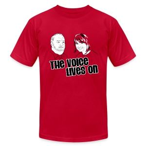 The Voice Lives On - Men's T-Shirt by American Apparel