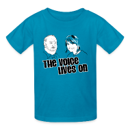 Kids' Shirts ~ Kids' T-Shirt ~ The Voice Lives On
