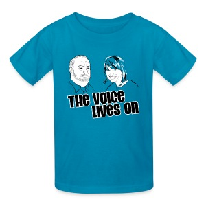 The Voice Lives On - Kids' T-Shirt