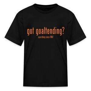 got goaltending? - Kids' T-Shirt