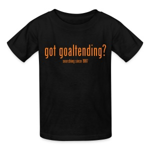 got goaltending? - Kids' T-Shirt