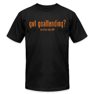 T-Shirts ~ Men's T-Shirt by American Apparel ~ got goaltending?