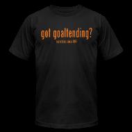 T-Shirts ~ Men's T-Shirt by American Apparel ~ got goaltending?