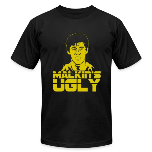 He's Ugly - Men's T-Shirt by American Apparel