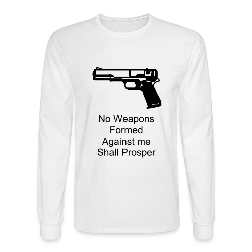 No Weapon - Men's Long Sleeve T-Shirt