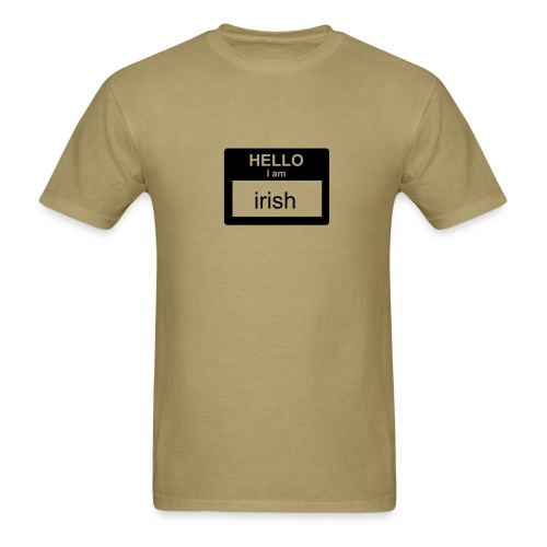 hello im Irish - Men's T-Shirt