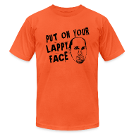 T-Shirts ~ Men's T-Shirt by American Apparel ~ Lappy Face