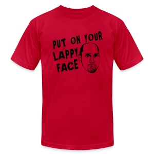 Lappy Face - Men's T-Shirt by American Apparel