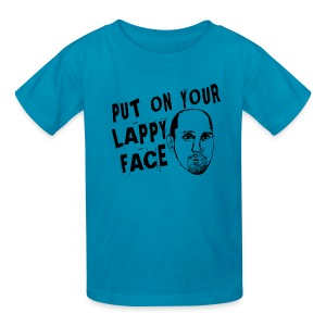 Lappy Face - Kids' T-Shirt
