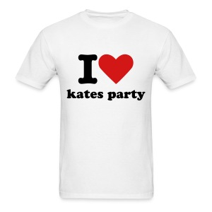 I love kates party - Men's T-Shirt