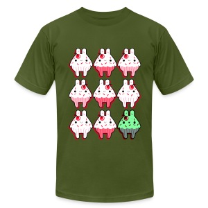 Cupcake Zombie - Men's T-Shirt by American Apparel