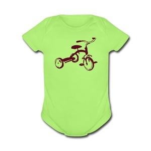Option One - Short Sleeve Baby Bodysuit