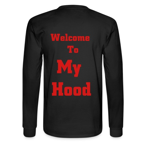 M.Soul Welcome To My Hood - Men's Long Sleeve T-Shirt