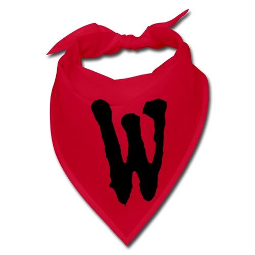 The Official Warriors Bandanna! (Black W) - Bandana
