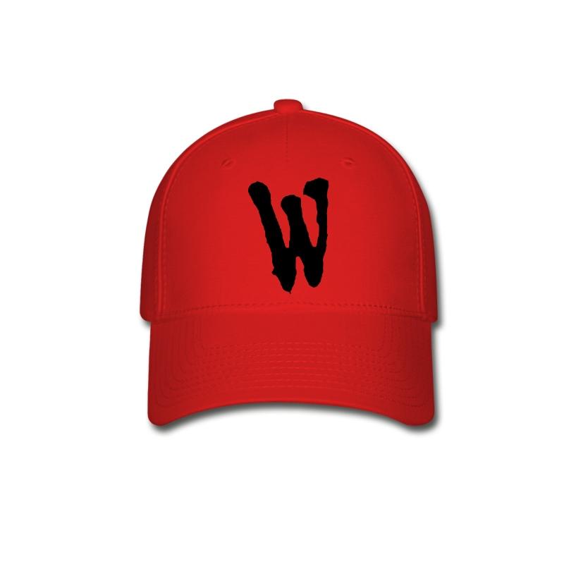 w hat baseball cap spreadshirt