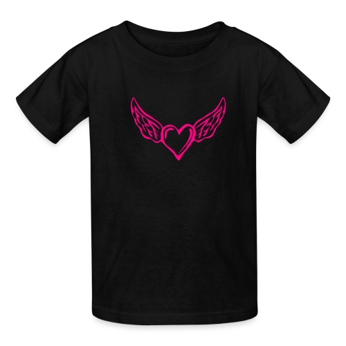 Flying Heart Kids Shirt - Kids' T-Shirt