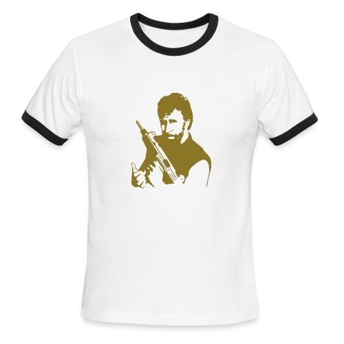 Chuck norris! - Men's Ringer T-Shirt