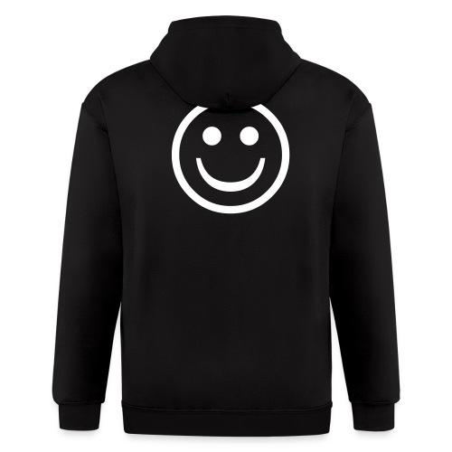 Happy Face - Men's Zip Hoodie