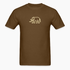 Brown elephant T-Shirts