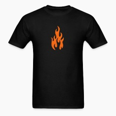 Black flames 1 T-Shirts