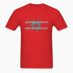 Red parenting advice [blue] T-Shirts