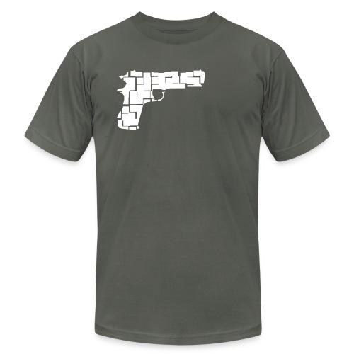 Gun Shirt - Men's  Jersey T-Shirt