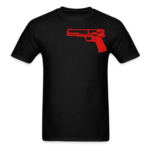 Gun Shirt Black - Men's T-Shirt