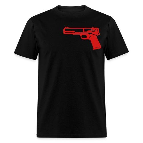 Gun Shirt Black - Men's T-Shirt