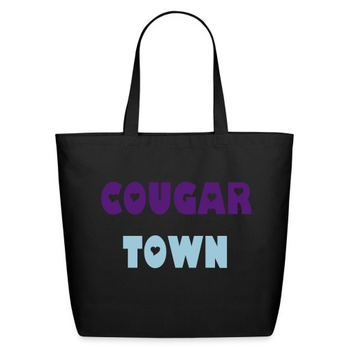 COUGAR TOWN TOTE BAG - Eco-Friendly Cotton Tote