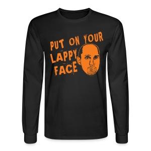 Lappy Face - Men's Long Sleeve T-Shirt