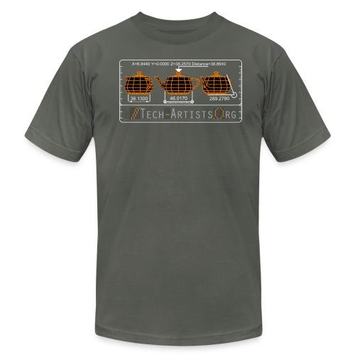 Three Teapots, Asphalt AA Tee - Men's Fine Jersey T-Shirt