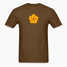 Brown flower T-Shirts