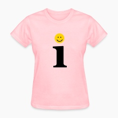 Pink i letter Women's T-Shirts