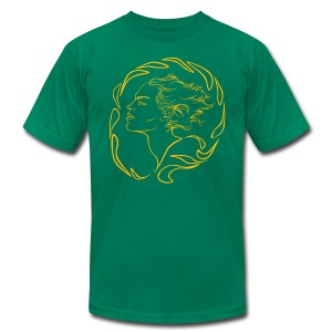 Ancient Seal - Men's T-Shirt by American Apparel