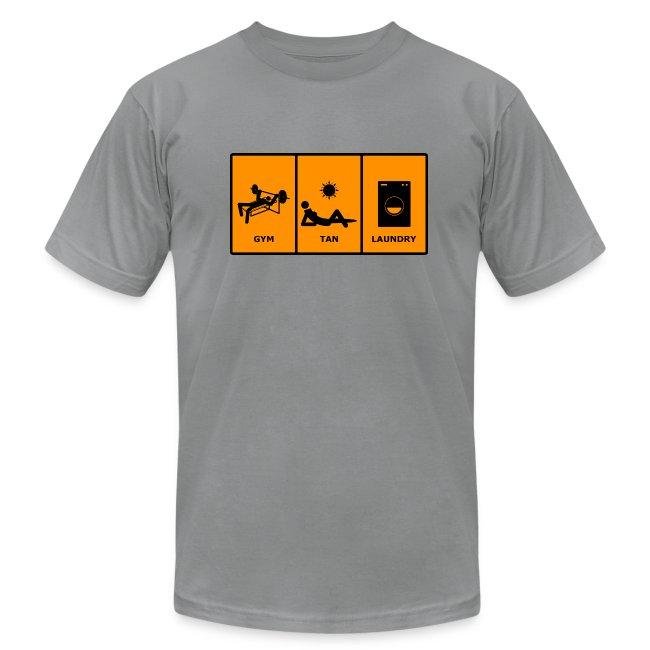 2af7c0549 Jersey Shore Shirts | GTL Gym Tan Laundry T-Shirt - Mens Jersey T-Shirt