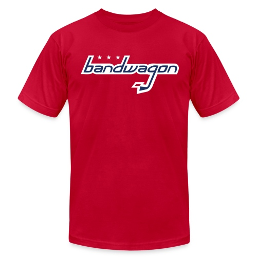 bandwagon DC - Men's T-Shirt by American Apparel