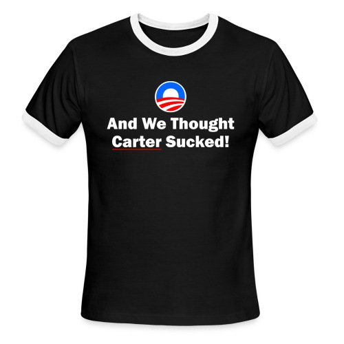 Anti-Obama - Men's Ringer T-Shirt