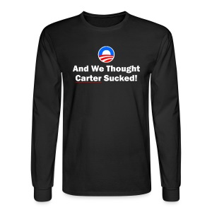 Anti-Obama - Men's Long Sleeve T-Shirt