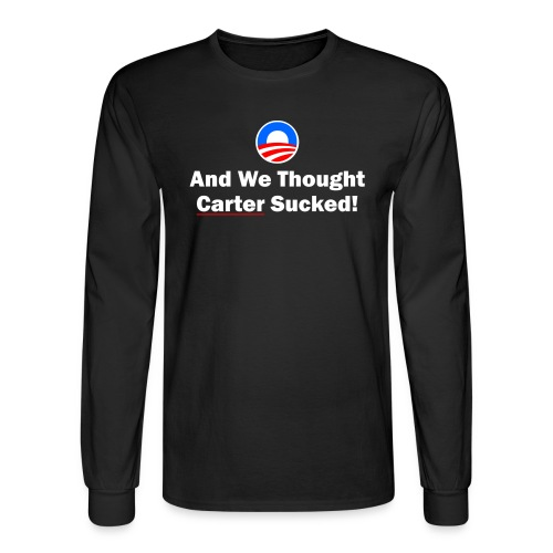 Anti-Obama - Men's Long Sleeve T-Shirt