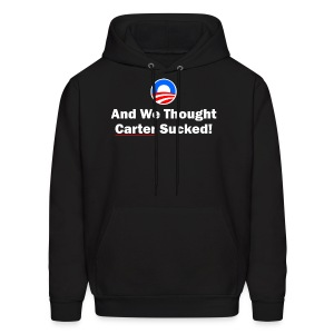 Anti-Obama - Men's Hoodie