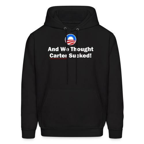 Anti-Obama - Men's Hoodie