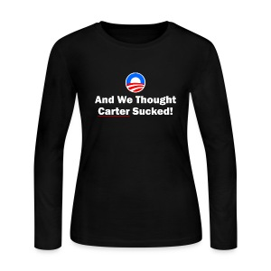 Anti-Obama - Women's Long Sleeve Jersey T-Shirt